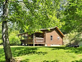 2Br Bryson City Cabin On Creek W/ Deck & Hot Tub! photos Exterior