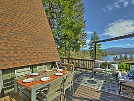 Great Home With 3 Decks And Views Of Lake Arrowhead! photos Exterior