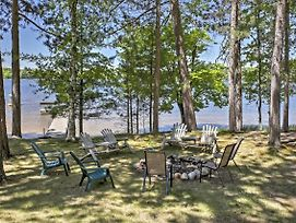 Lakeside St. Germain House W/Fire Pit, Deck & Dock photos Exterior