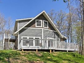 Crosslake Home On Pine Lake With Deck And Fire Pit! photos Exterior