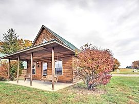 Lakefront Columbia Cabin W/ Views & Porch! photos Exterior