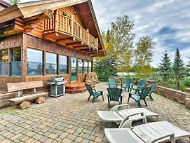 Amazing Duluth 3+Br Lakefront Home W/Views & Sauna photos Exterior