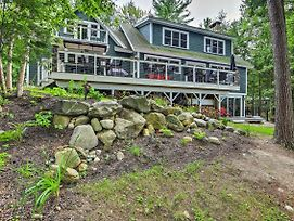 Lakefront Winthrop Home W/Outdoor Bar, Deck & Dock photos Exterior