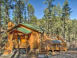 Secluded 'The Lincoln Cabin' W/Hot Tub & 3 Decks! photos Exterior