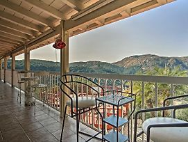 Hilltop Valley Center House W/Balcony & Mtn Views! photos Exterior