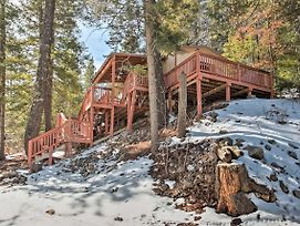 Rustic Cloudcroft Cabin W/Deck-Near Skiing & Fishing! photos Exterior