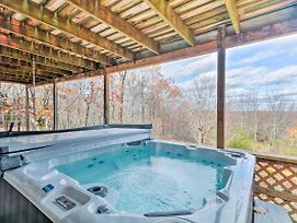 Lake Harmony Home W/ Hot Tub, Deck & Forest Views! photos Exterior