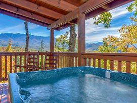 'Breathtaking View' Cabin W/Covered Deck & Hot Tub photos Exterior