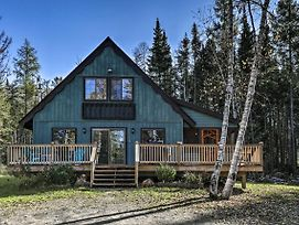 Charming Lake Placid Chalet W/ Deck & Fireplace! photos Exterior