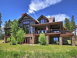 Tabernash Home W/ Game Room, Hot Tub & Mtn Views! photos Exterior