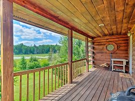 Jacksonville Cabin With Wraparound Deck And Views photos Exterior