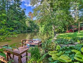 Highlands Home W/ Boat Dock On Mirror Lake! photos Exterior