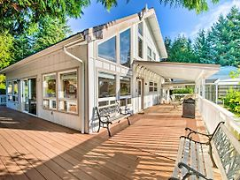 Hood Canal Home With Hot Tub Bordering Olympic Np! photos Exterior