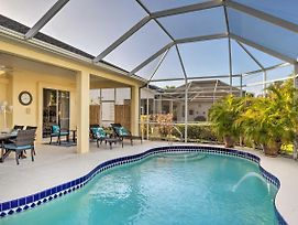 Port Charlotte Home On Canal W/ Lanai & Pool! photos Exterior