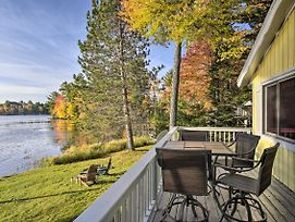 New-Updated Eagle River Home W/Private Dock, Views photos Exterior