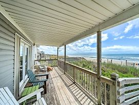 Oceanfront Emerald Isle Home With Beach Access! photos Exterior