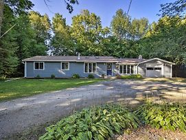 New-Sister Bay Home W/Fire Pit, Walk To Beach+Town photos Exterior
