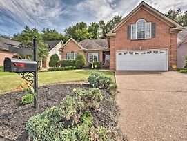 Home W/Grill & Patio - 14 Mi To Dt Nashville! photos Exterior