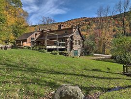 Picture-Perfect Vermont Mtn Cabin With Hot Tub! photos Exterior