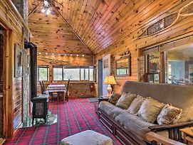 Waterfront Cable Cabin W/ Dock & Fire Pit! photos Exterior