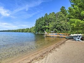 Panther Pond Cabin W/200 Ft Sand Beach & Dock photos Exterior