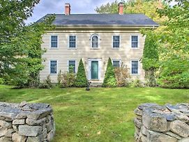 Wells Colonial Home Set On 9 Acres W/ Deck photos Exterior