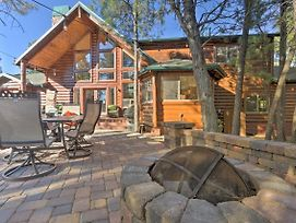 Show Low Cabin W/ Fire Pit, Game Room & Bbq! photos Exterior