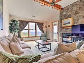 Burnsville Condo W/Balcony + Smoky Mtn. Views photos Exterior