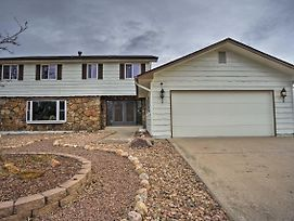 Colorado Springs Home W/ Big Patio In The Bluffs! photos Exterior