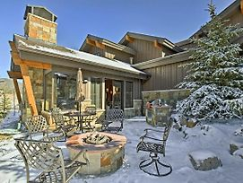 Mountainside Home With Hot Tub, Steps To Ski Shuttle! photos Exterior