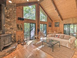 Cabin W/3 Acres, Tennis+Bball Courts By 4 Ski Mtns photos Exterior