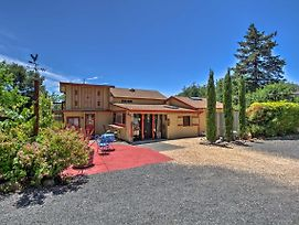 Converted Barn In Sebastopol W/ Private Patio! photos Exterior