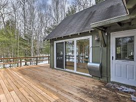 Waterfront Snipe Lake Home W/ Deck & Fire Pit photos Exterior