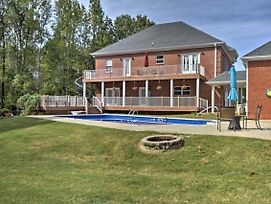 2-Story Home W/ Fire Pit ~15 Mi To Huntsville photos Exterior