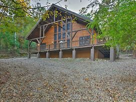 Cabin W/ Private Hot Tub + Deck On 1.5 Acres! photos Exterior