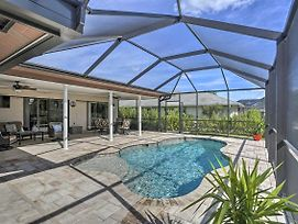 Cheery Canalfront Cape Coral Retreat With Dock! photos Exterior