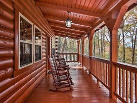 Secluded Smoky Mountain Retreat With Wraparound Deck! photos Exterior