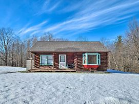 High Peak Heaven: Cozy Log Cabin On 1 Acre! photos Exterior