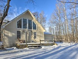 Lakes Of The North House On Snowmobile Trail! photos Exterior