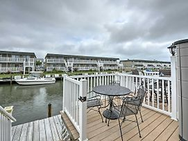 Waterfront Ocean City Townhome - Bay Side photos Exterior