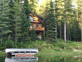 New! Lakefront Cabin Near Glacier National Park! photos Exterior