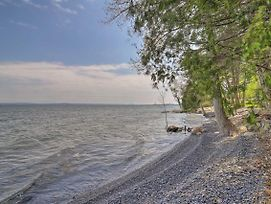 Tranquil Studio W/Private Beach On Lake Champlain! photos Exterior