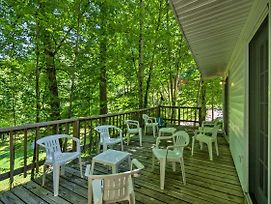 New! Bryson City Cottage W/Deck-Steps To Creek! photos Exterior