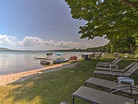 New! Lakefront Apartment+Suite W/Dock In Empire! photos Exterior