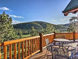 Estes Park Log Home W/ Hot Tub, Deck & Mtn Views! photos Exterior