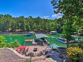 Lakefront Keowee Retreat W/ Dock ~14 Mi To Clemson photos Exterior