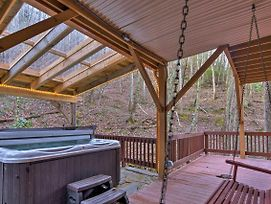Luxury Asheville Home W/Game Room, Fire Pit & Deck photos Exterior