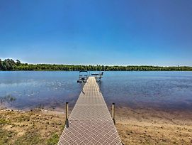 2Br Lakefront Pine River Cabin W/Fire Pit & Views photos Exterior