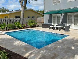 Waterfront Home With Saltwater Pool, 10 Mins To Beach photos Exterior