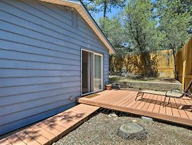 Prescott Cabin With Yard And Deck - 6 Miles To Town! photos Exterior